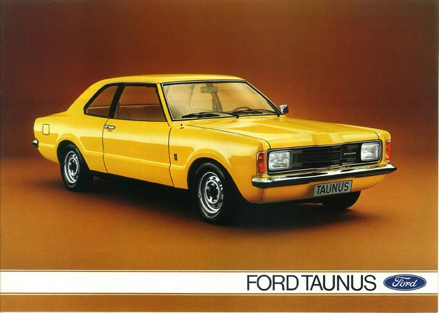Catalogue Ford Taunus 1975 - G