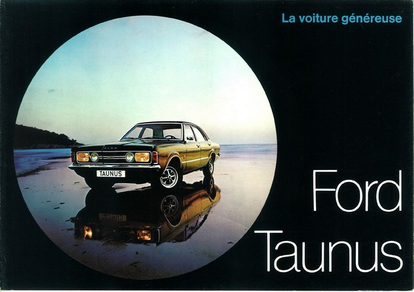 Catalogue Ford Taunus 1971 - Fr